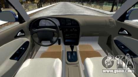 Daewoo Nubira II Sedan SX USA 2000 para GTA 4 vista lateral