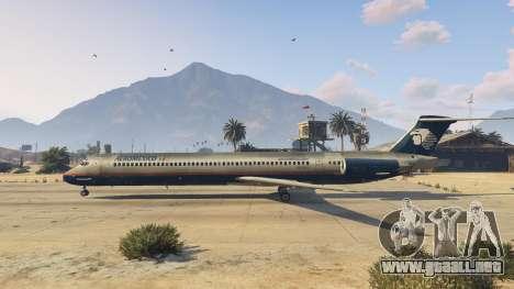 GTA 5 McDonnell Douglas MD-80 tercera captura de pantalla