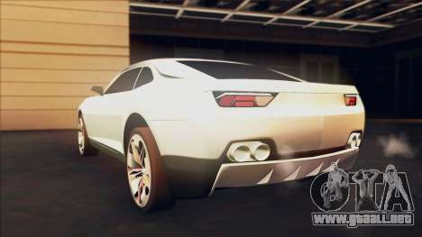 Chevrolet Camaro DOSH Tuning v0.1 Beta para GTA San Andreas left