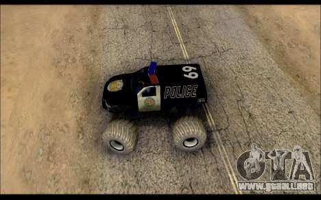 The Police Monster Trucks para la visión correcta GTA San Andreas