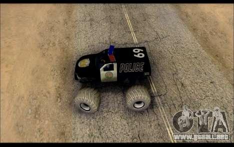 The Police Monster Trucks para la visión correcta GTA San Andreas