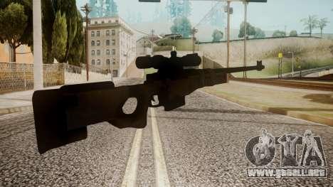 Sniper Rifle by catfromnesbox para GTA San Andreas segunda pantalla