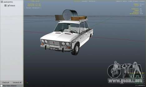 GTA 5 Motor VAZ 2103