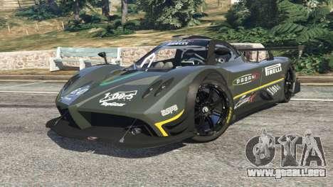GTA 5 Pagani Zonda R 2009 v0.5 vista lateral derecha