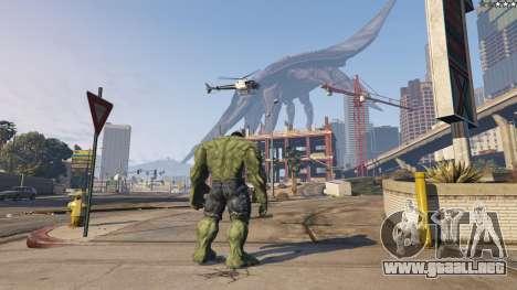 GTA 5 The Hulk cuarto captura de pantalla