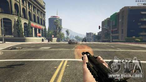 GTA 5 MW3 MP5 noveno captura de pantalla