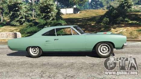GTA 5 Plymouth Road Runner 1970 [fix] vista lateral izquierda