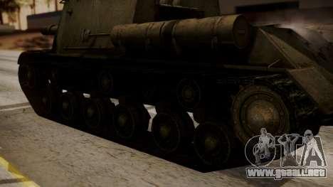 ISU-152 from World of Tanks para la visión correcta GTA San Andreas