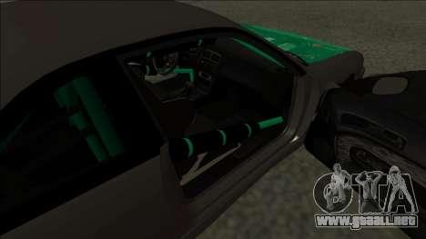 Nissan 200sx Drift para GTA San Andreas vista posterior izquierda