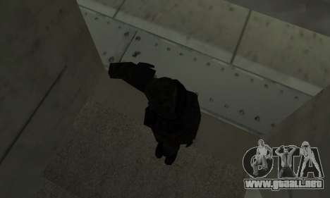 Militar saludo para GTA San Andreas tercera pantalla
