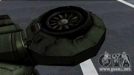 Hornet Halo 3 para la visión correcta GTA San Andreas