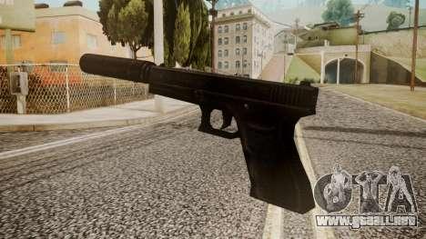 Silenced Pistol by catfromnesbox para GTA San Andreas segunda pantalla