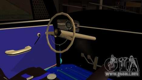Volkswagen Beetle Vocho-Buggy para la visión correcta GTA San Andreas