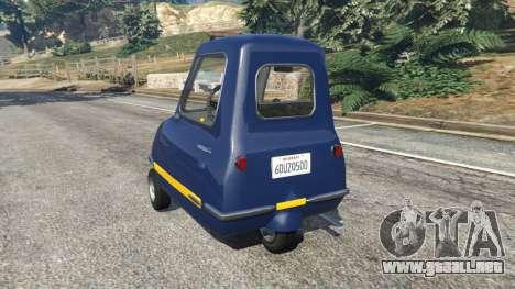 Peel P50 Police para GTA 5