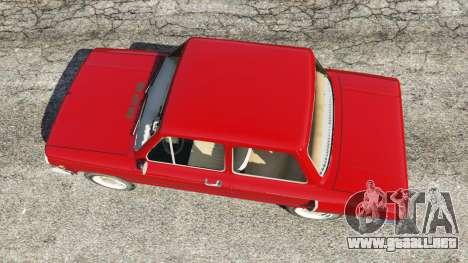 GTA 5 ZAZ-Y vista trasera