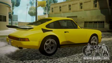 RUF CTR Yellowbird 1987 para GTA San Andreas left