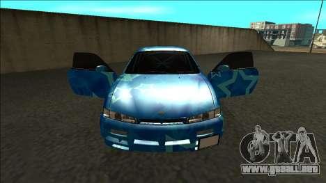 Nissan Silvia S14 Drift Blue Star para visión interna GTA San Andreas