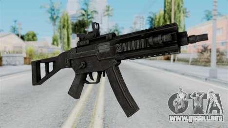 MP5 from RE6 para GTA San Andreas