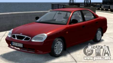 Daewoo Nubira II Sedan S PL 2000 para GTA 4 left