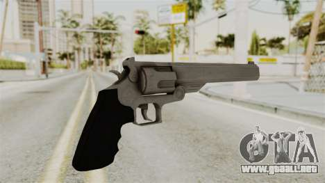 Desert Eagle from RE6 para GTA San Andreas segunda pantalla
