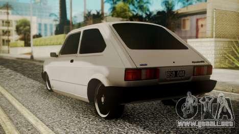 Fiat 147 Spazio-TR para GTA San Andreas left