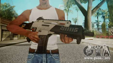 G36C Silver para GTA San Andreas tercera pantalla