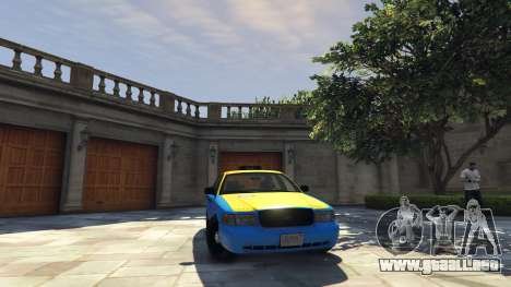 Ford Crown Victoria Taxi v1.1 para GTA 5