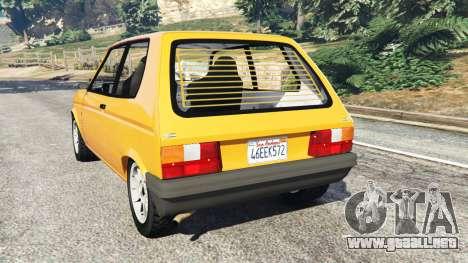 Talbot Samba para GTA 5