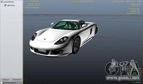 Porsche Carrera GT 1.2 para GTA 5