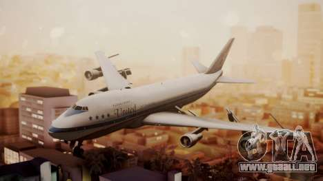 Boeing 747-100 United Airlines Friend Ship para GTA San Andreas