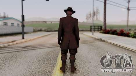 SkullFace Hat para GTA San Andreas tercera pantalla