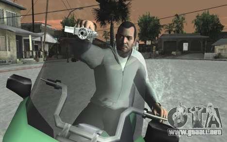 GTA 5 Tec-9 para GTA San Andreas décimo de pantalla