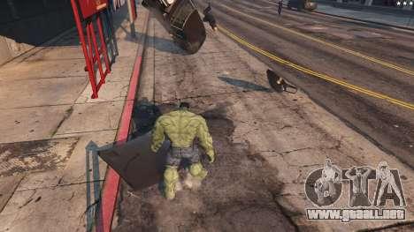 GTA 5 The Hulk octavo captura de pantalla