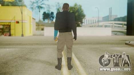 Venom Snake [Jacket] Hand of Jehuty Arm para GTA San Andreas tercera pantalla
