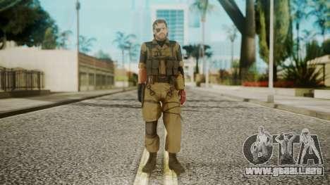 Venom Snake Olive Drab para GTA San Andreas segunda pantalla
