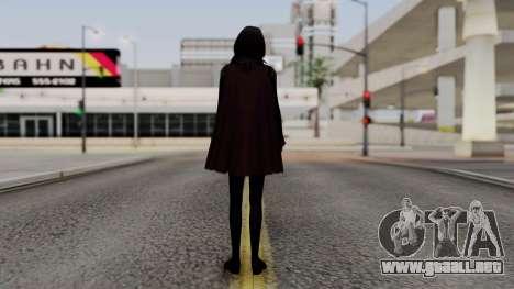 Final Fantasy Type 0 - Rem Tokomiya para GTA San Andreas tercera pantalla