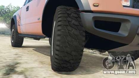 Ford F-150 SVT Raptor 2012 v2.0 para GTA 5