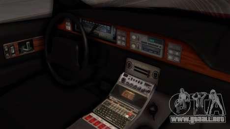 Chevy Caprice Station Wagon 1993-1996 SACFD para la visión correcta GTA San Andreas