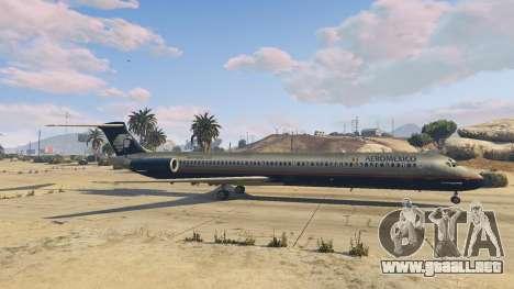 GTA 5 McDonnell Douglas MD-80 sexta captura de pantalla