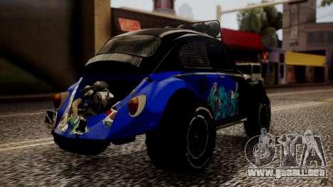 Volkswagen Beetle Vocho-Buggy para GTA San Andreas left
