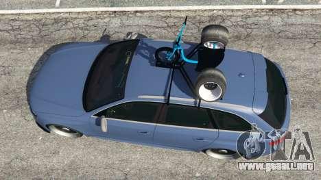 GTA 5 Audi RS4 Avant 2014 vista trasera