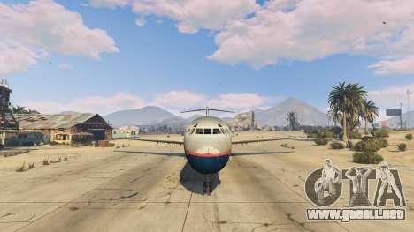 GTA 5 McDonnell Douglas MD-80 quinta captura de pantalla