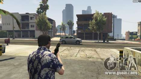GTA 5 MW3 MP5 cuarto captura de pantalla