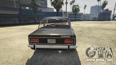 GTA 5 VAZ 2103 vista trasera