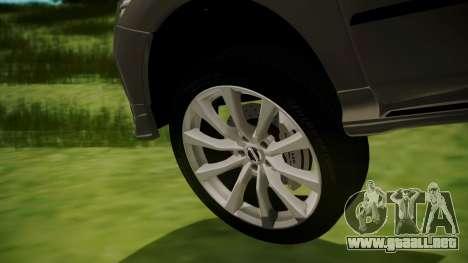 Nissan Patrol IMPUL 2014 para GTA San Andreas vista posterior izquierda