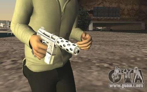 GTA 5 Tec-9 para GTA San Andreas tercera pantalla