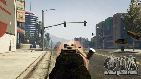 GTA 5 MW3 MP5 octavo captura de pantalla