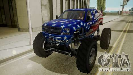 GTA 5 Vapid The Liberator para visión interna GTA San Andreas