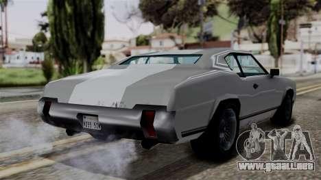 Sabre Turbo from Vice City Stories para GTA San Andreas left