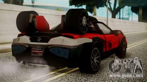 Tridoron-3000 para GTA San Andreas left